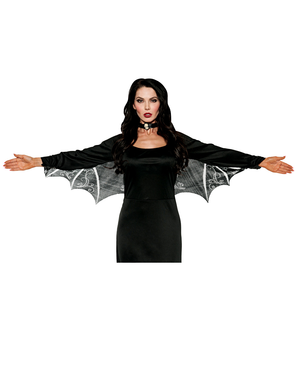 Small Batwings Costume Shoe wings Halloween Gothic Accessory