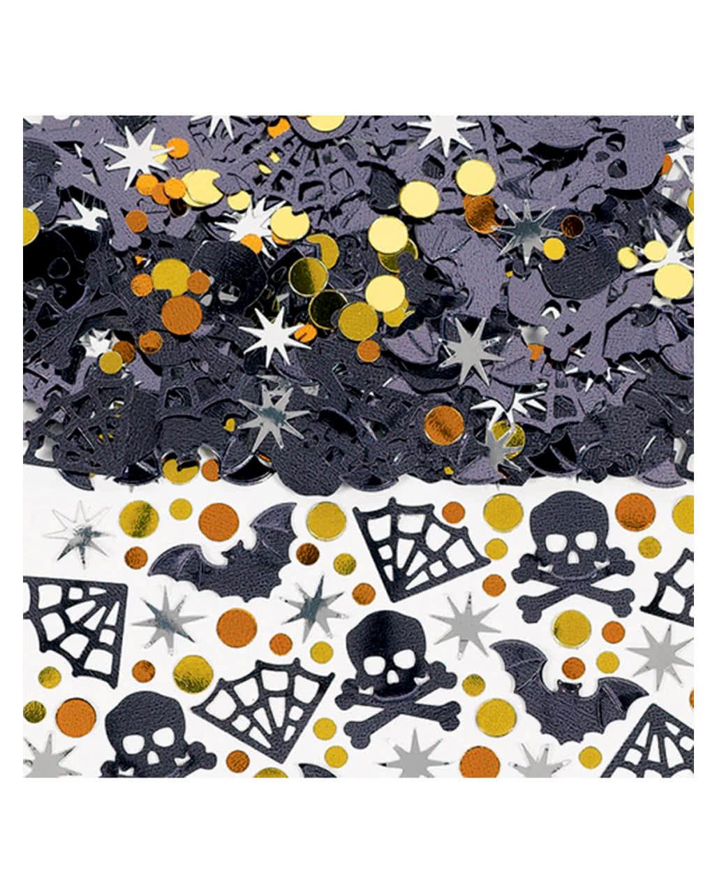 spooky halloween konfetti metallic partydeko horror. Black Bedroom Furniture Sets. Home Design Ideas