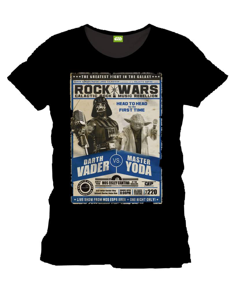 star wars t shirt darth vader vs yoda star wars poster. Black Bedroom Furniture Sets. Home Design Ideas