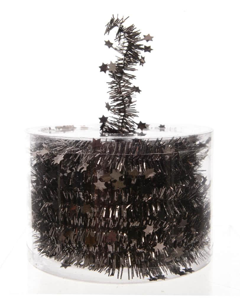 Star garland anthracite noble garland for christmas - Gothic weihnachtsdeko ...