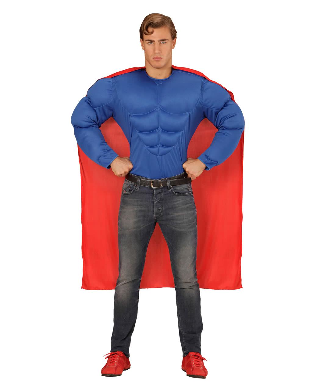 superhelden muskel shirt als karnevalskost m horror. Black Bedroom Furniture Sets. Home Design Ideas