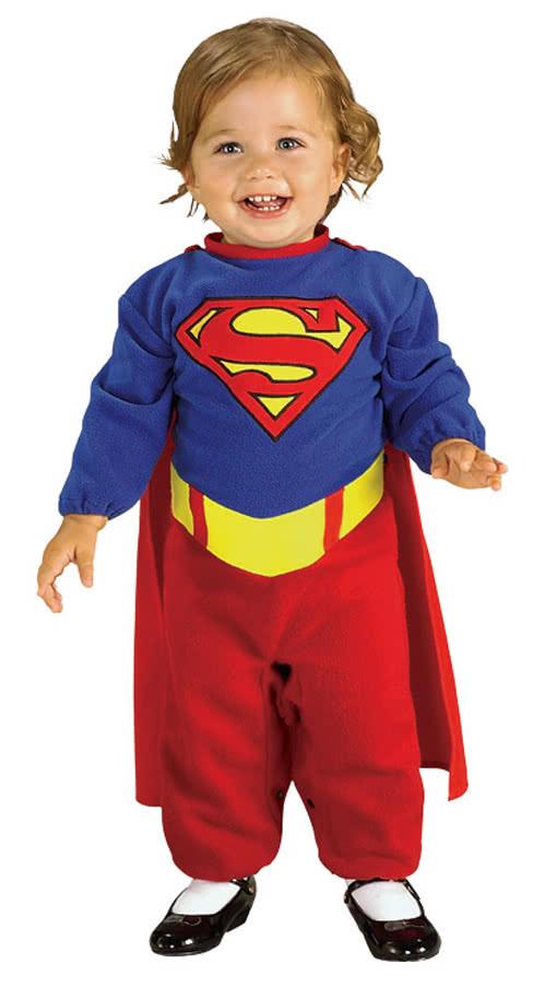 supergirl kleinkinderkost m lizenziertes supergirl kost m f r m chen horror. Black Bedroom Furniture Sets. Home Design Ideas
