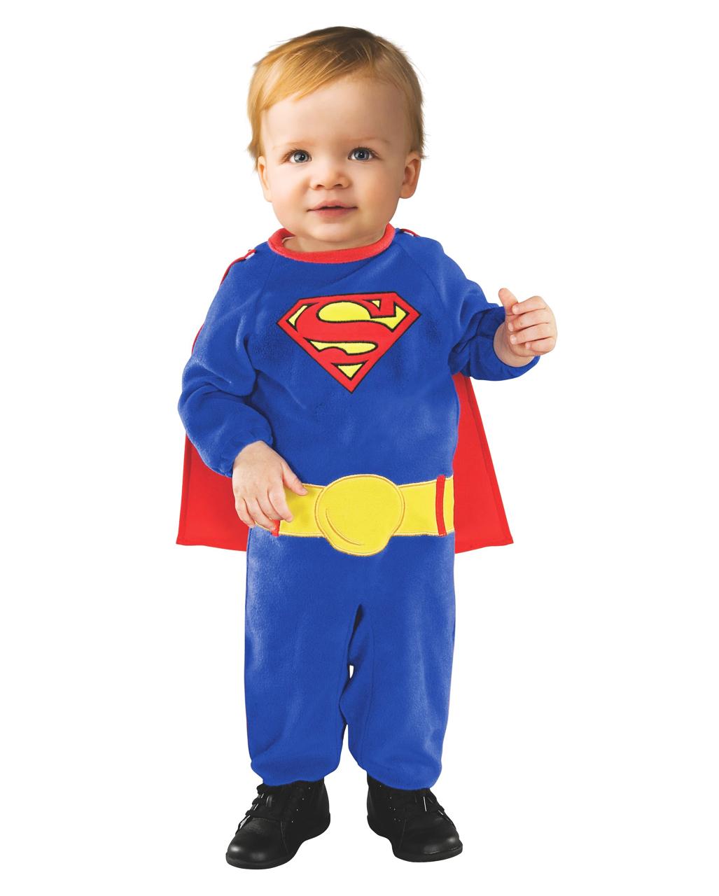 DC Comics Baby Boys Superman Footies