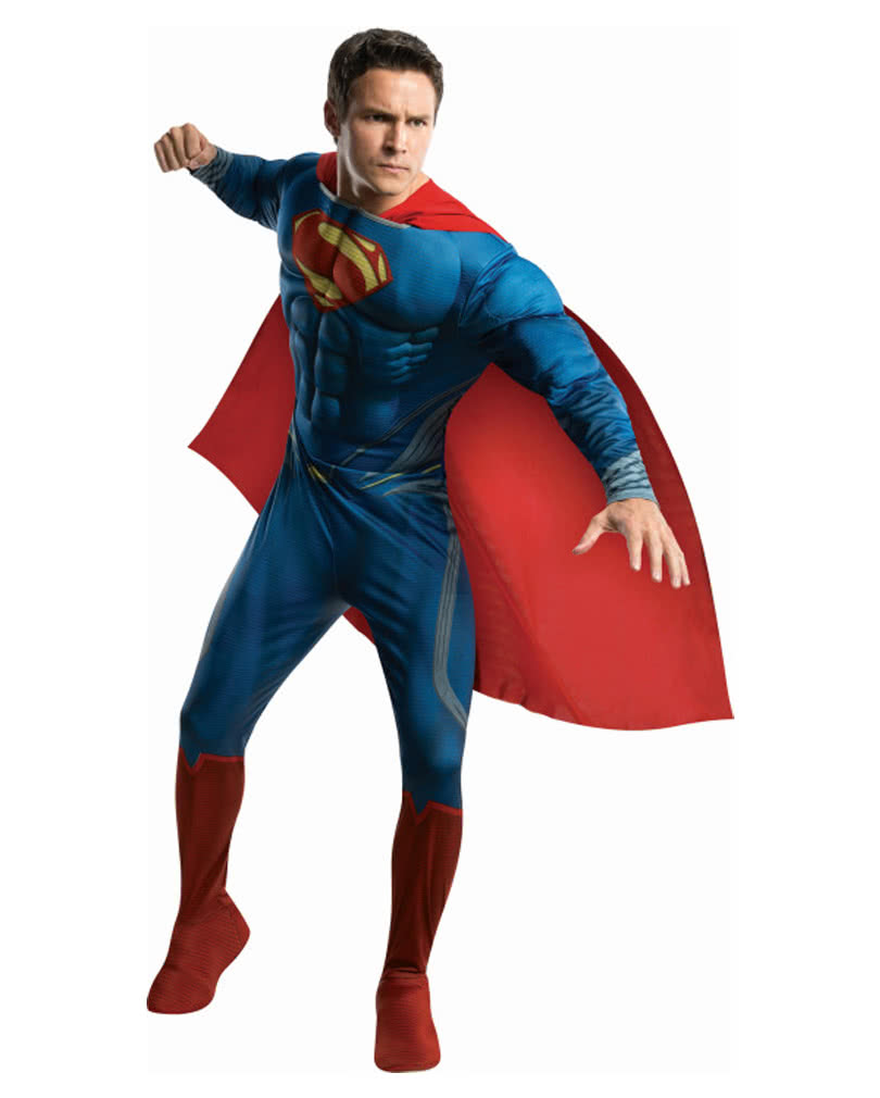 superman deluxe kost m superhelden kost me online kaufen horror. Black Bedroom Furniture Sets. Home Design Ideas