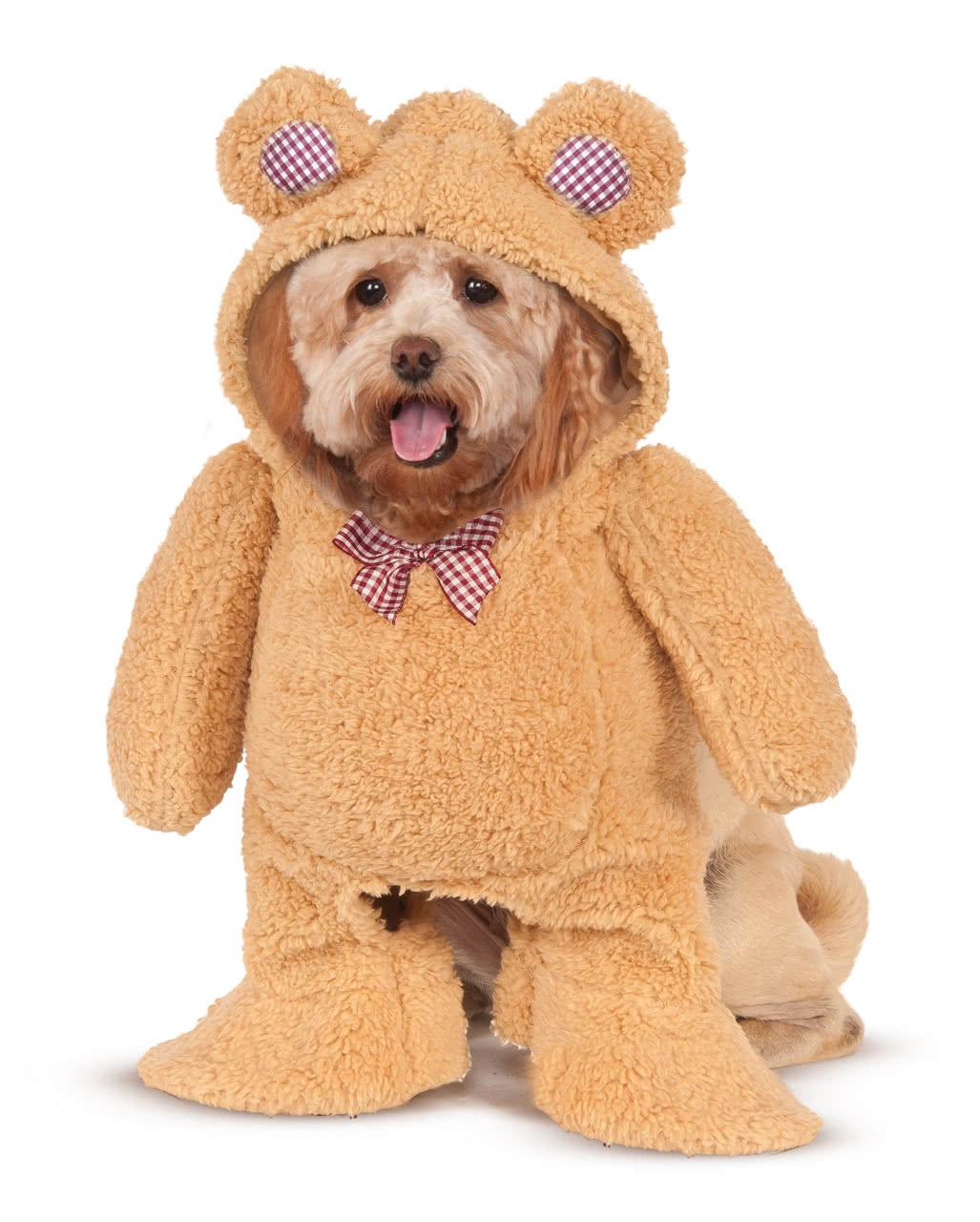 Teddy Bear Dog Costume For Halloween Horror Shop Com