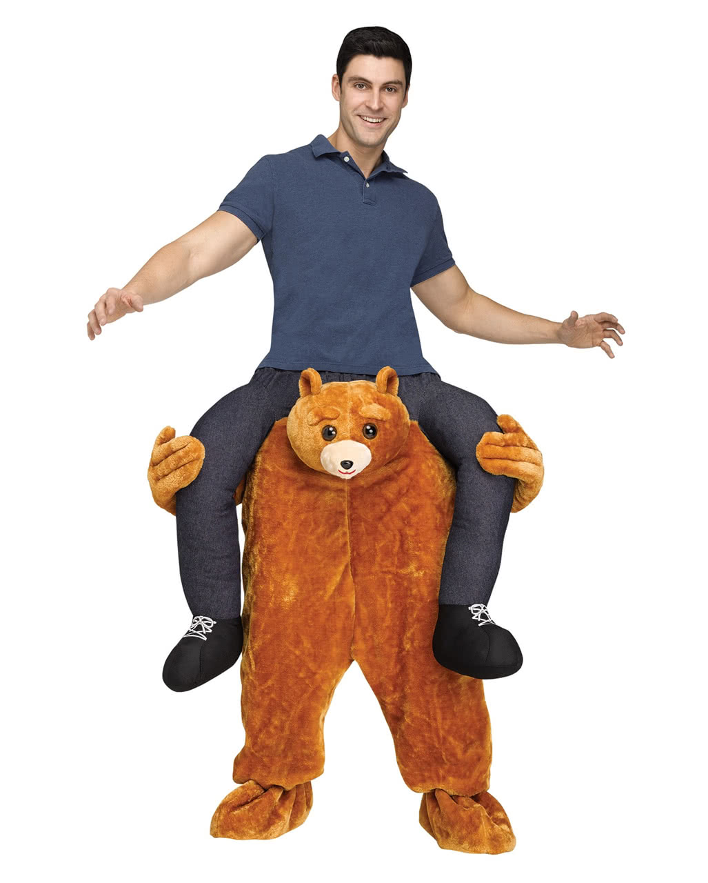 Teddy Bear Piggyback Costume For Carnival