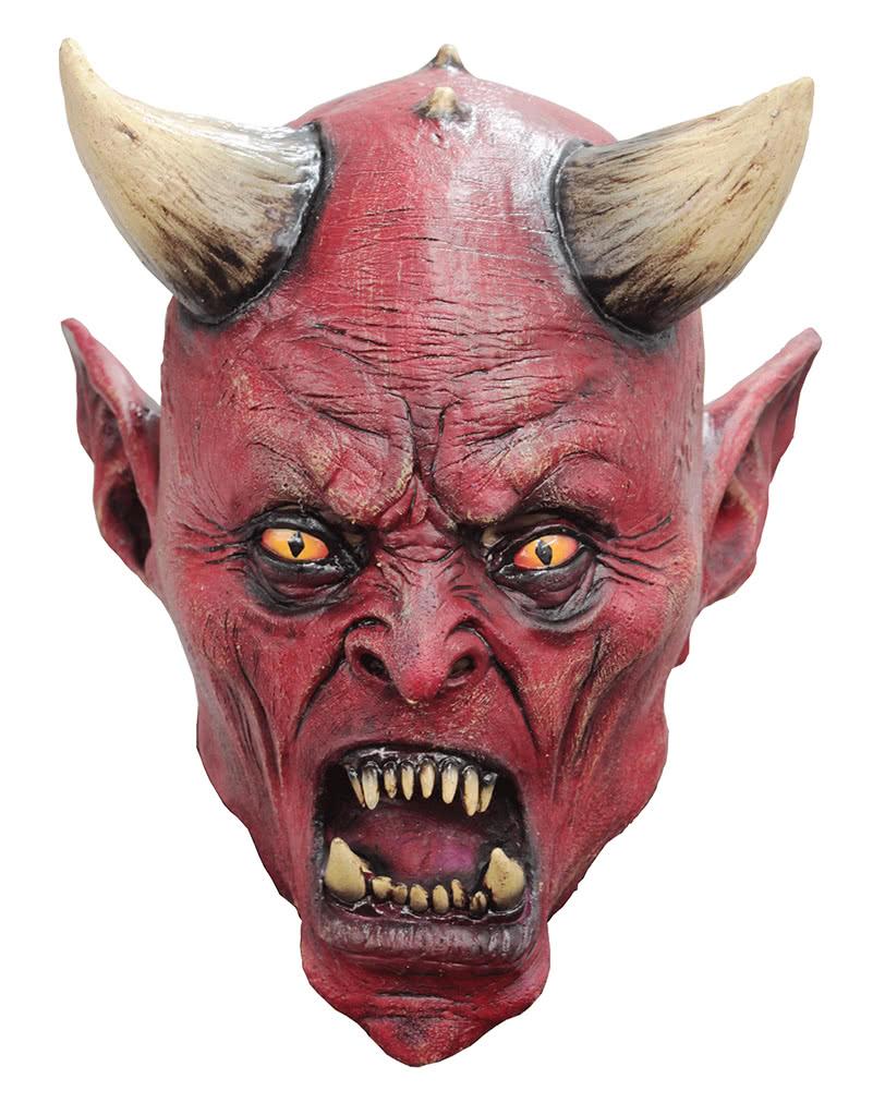 teufel kindermaske uzzath halloween maske horror. Black Bedroom Furniture Sets. Home Design Ideas