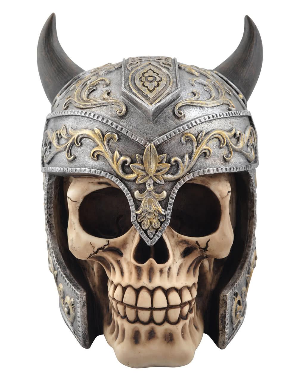 Totenkopf  Schädel Halloween Gothic und Steampunk Polyresin Figur