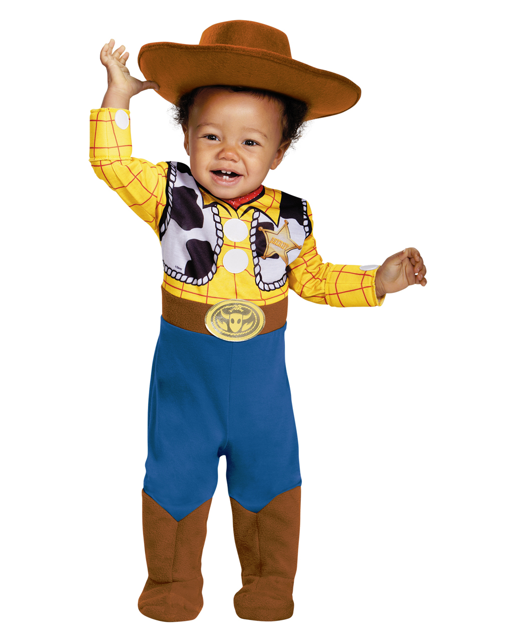 EVA Brown Adult Cowboy Hat Toy Story Woody Fancy Dress Party Dressing Role play