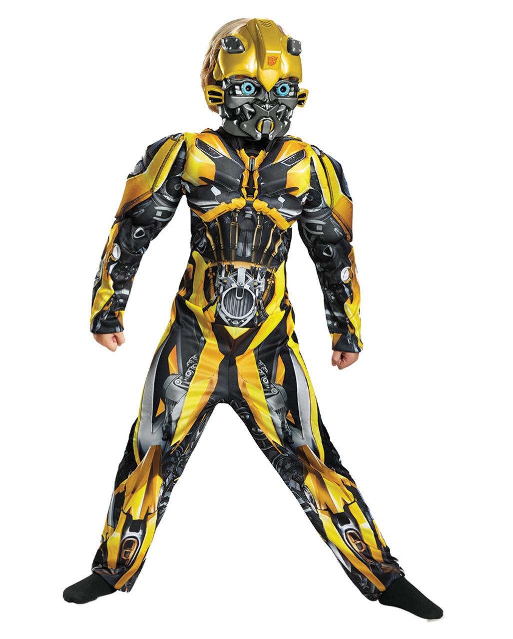 Transformers Bumblebee Kids Muscle Costume ☆