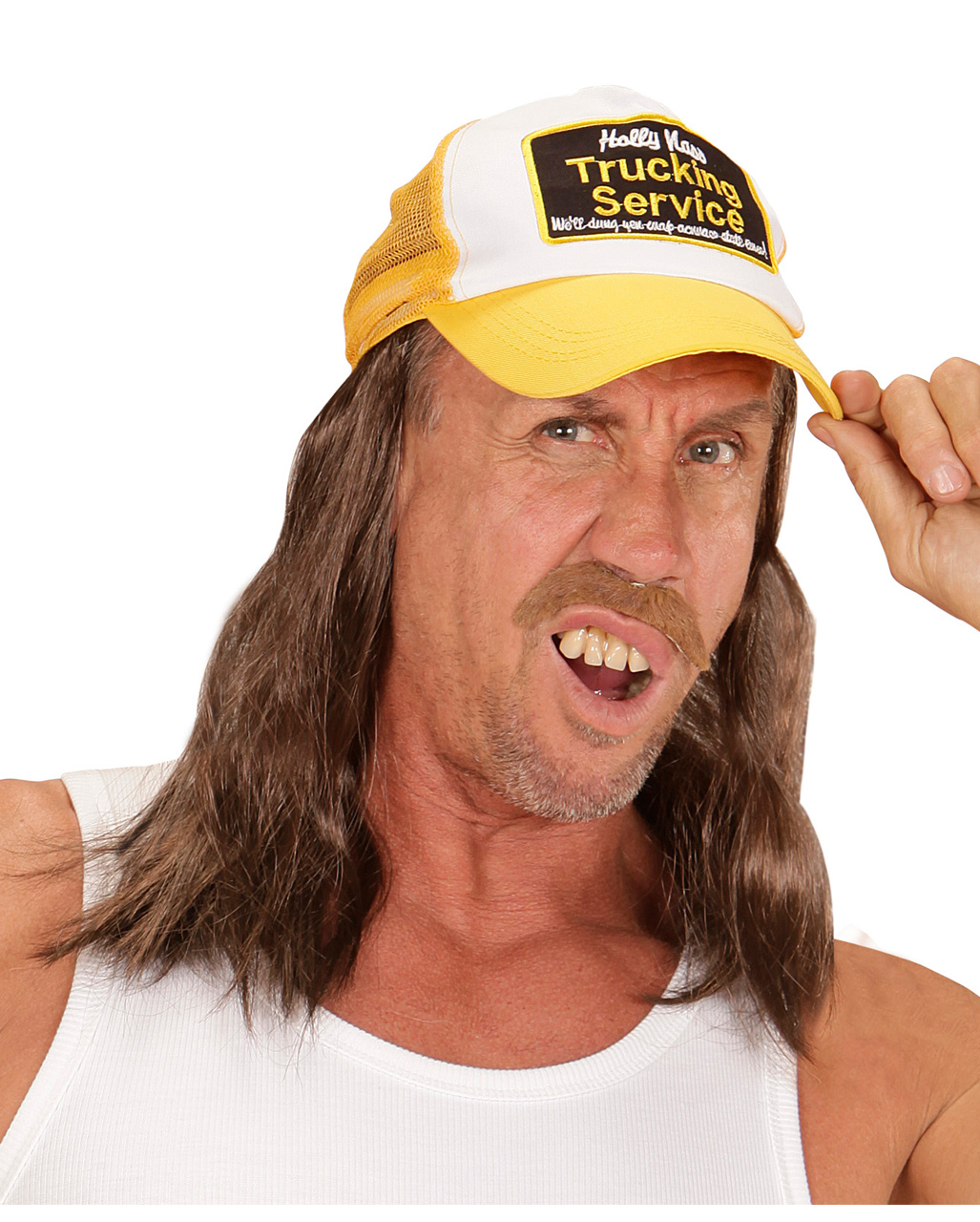 13a3a9700 Trucker Hat With Hair