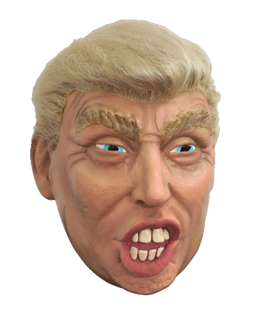 Mens Latex President Trump Stag Do Fun Fancy Dress Costume Outfit Accessory Wig