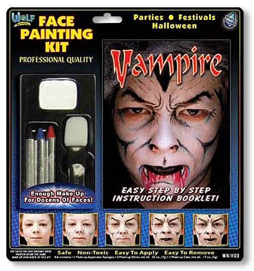 vampire make up kit vampire makeup dracula make up halloween makeup vampire horror. Black Bedroom Furniture Sets. Home Design Ideas