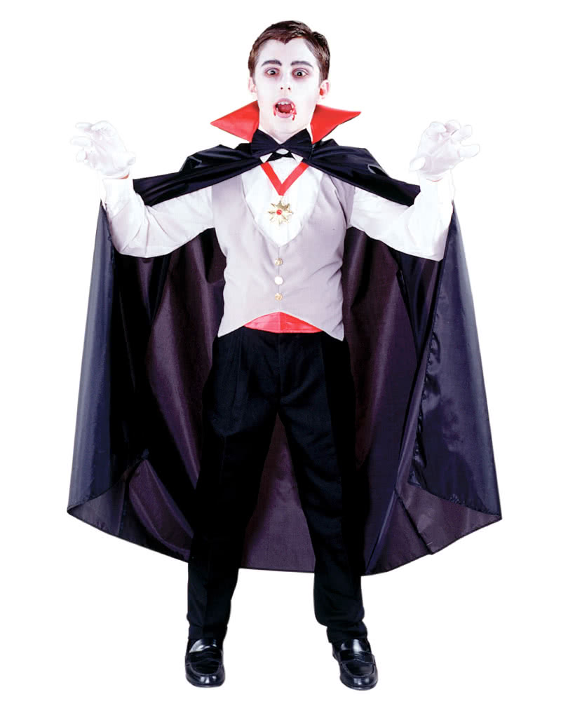 vampir kinderkost m 6 tlg vampir kost m f r kinder horror. Black Bedroom Furniture Sets. Home Design Ideas