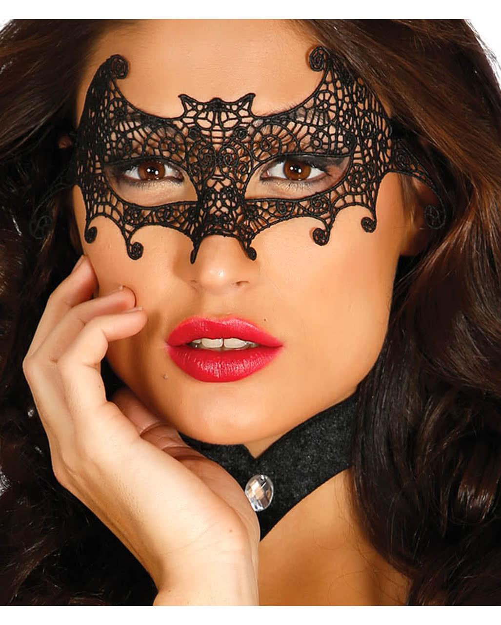 Venezianische Fledermaus Stoffmaske Augenmaske Kaufen Horror