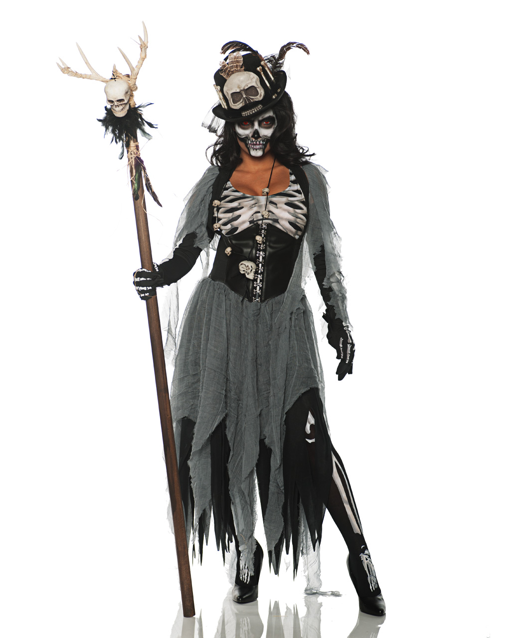Voodoo Witch Womens Costume For Halloween Horror Shop Com
