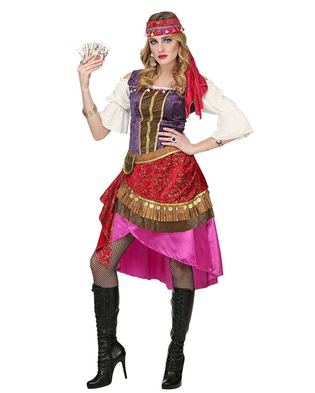 Zigeunerin Kostum Fur Karneval Horror Shop Com