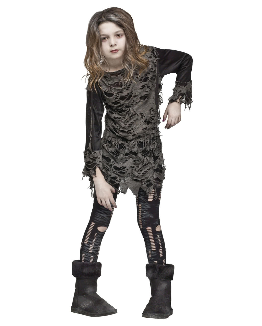 Halloween Zombie Costumes For Girls.Walking Zombie Costume For Girls