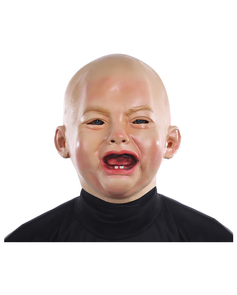 weeping baby mask funny baby masks for adults horror