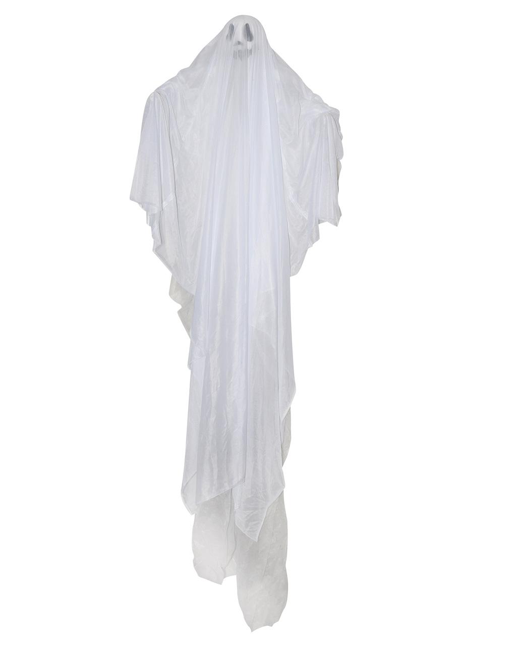 White Ghost Halloween Hanging Figure 18 Cm