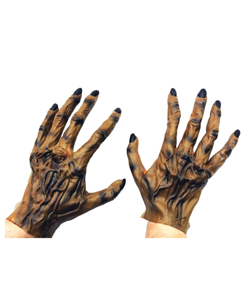 Wolfman Adult Latex Hands