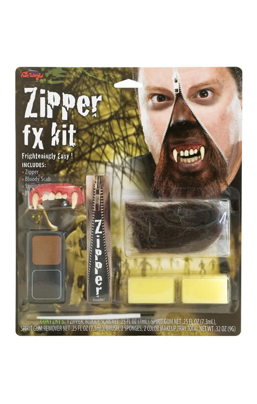 New Zipper Fx Kit Other Kids' Clothing & Accs Werewolf Clothing, Shoes & Accessories
