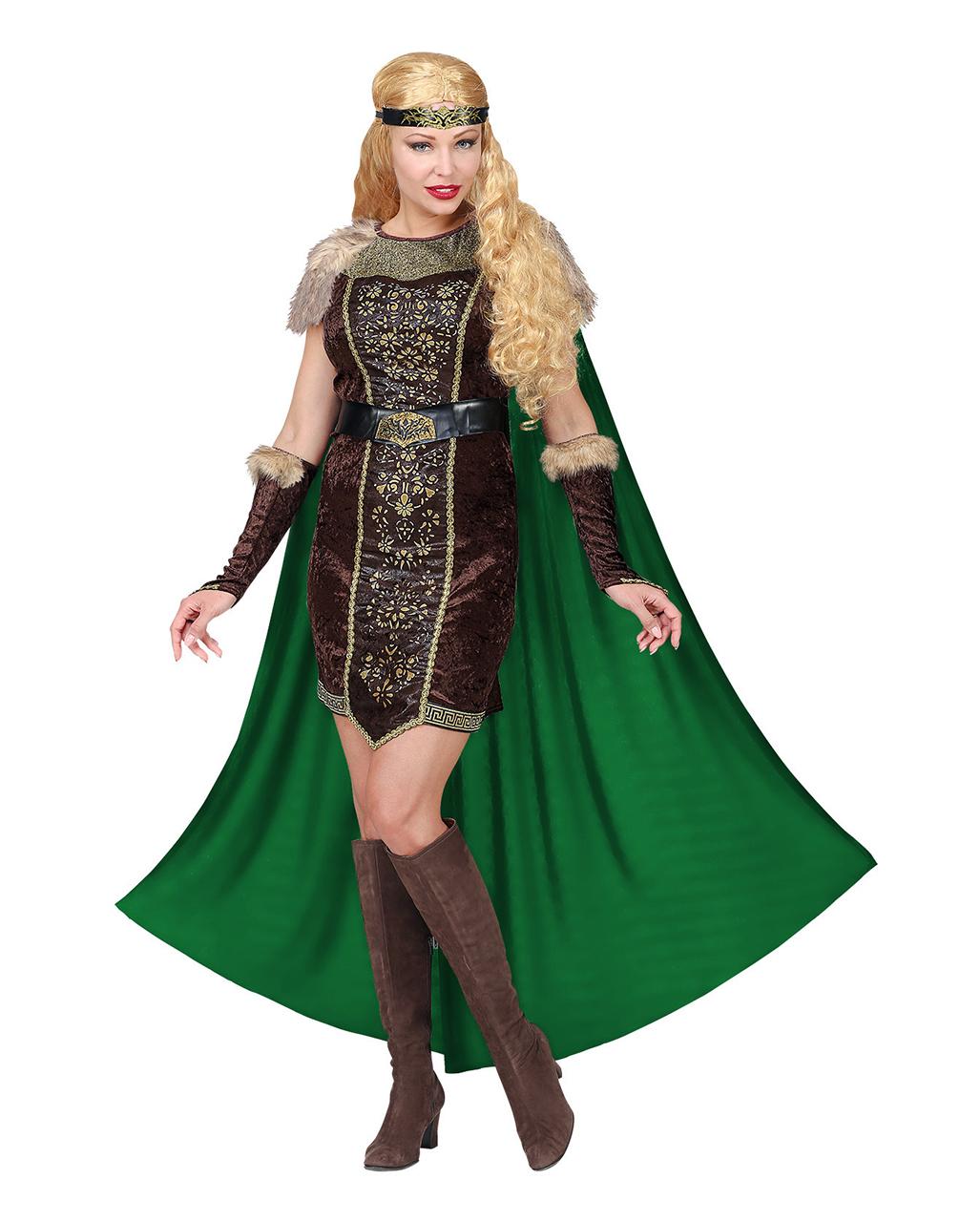 Women/'s Barbarian Viking Queen Fancy Dress Costume Game Of Thrones Hen Fun Theme