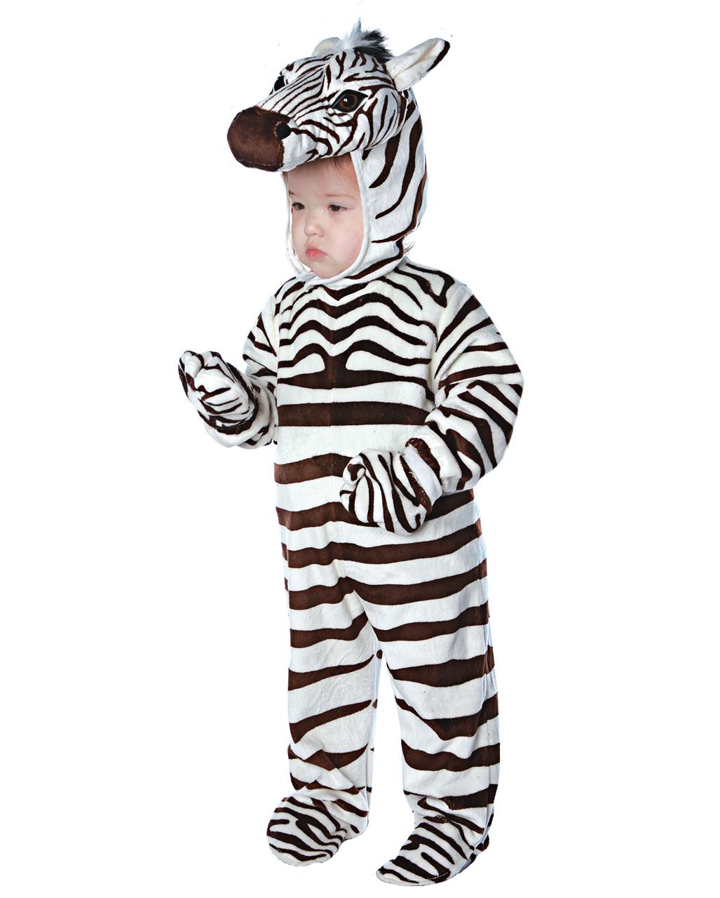 Zebra Kleinkinderkostum Fur Fasching Horror Shop Com