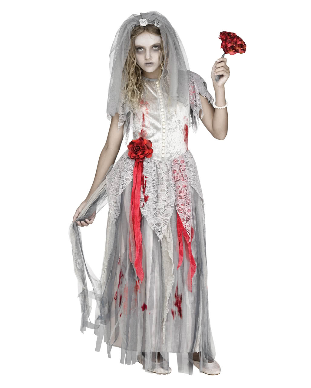 Zombie Bride Children Costume