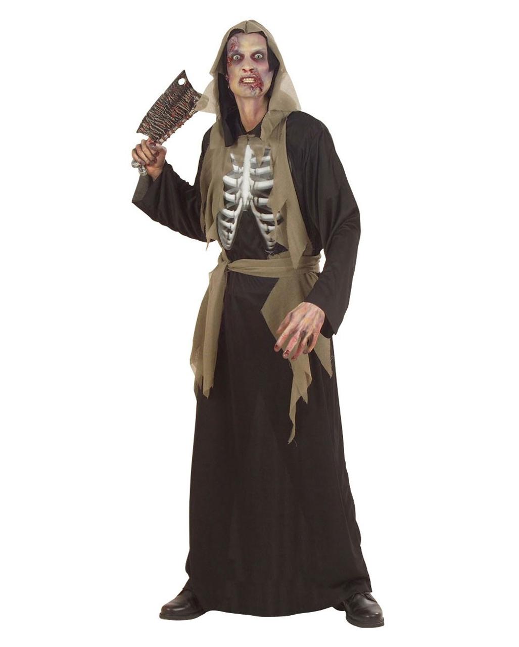 zombie skelett kost m m zombie kost me f r herren horror. Black Bedroom Furniture Sets. Home Design Ideas