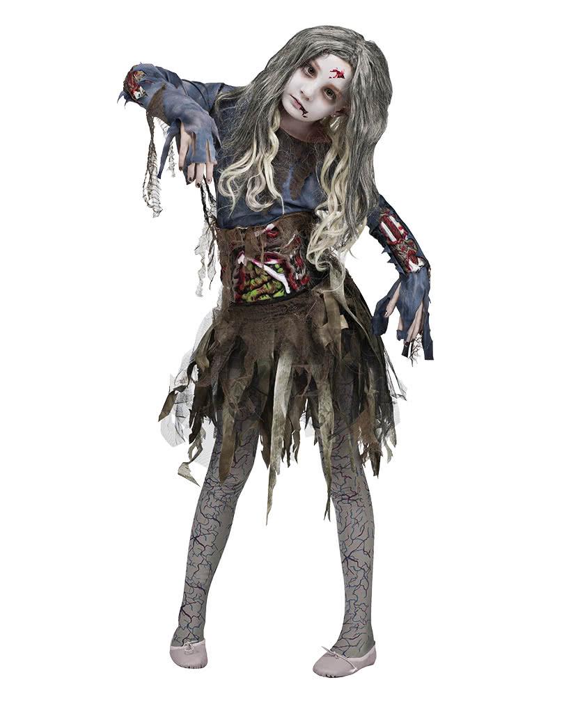 Halloween Zombie Costume.3d Zombie Costume For Girls Zombie Girl 3d Halloween Dress Horror Shop Com