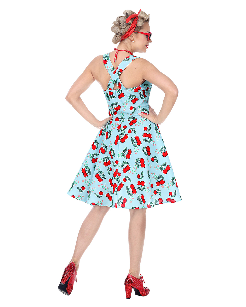 50's Rock'n Roll Dress With Petticoat