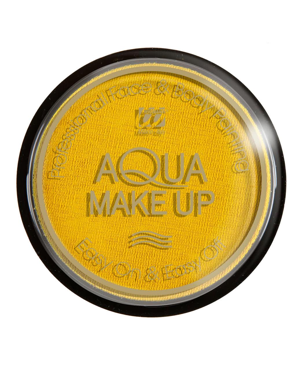aqua make up gelb theater make up kaufen horror. Black Bedroom Furniture Sets. Home Design Ideas