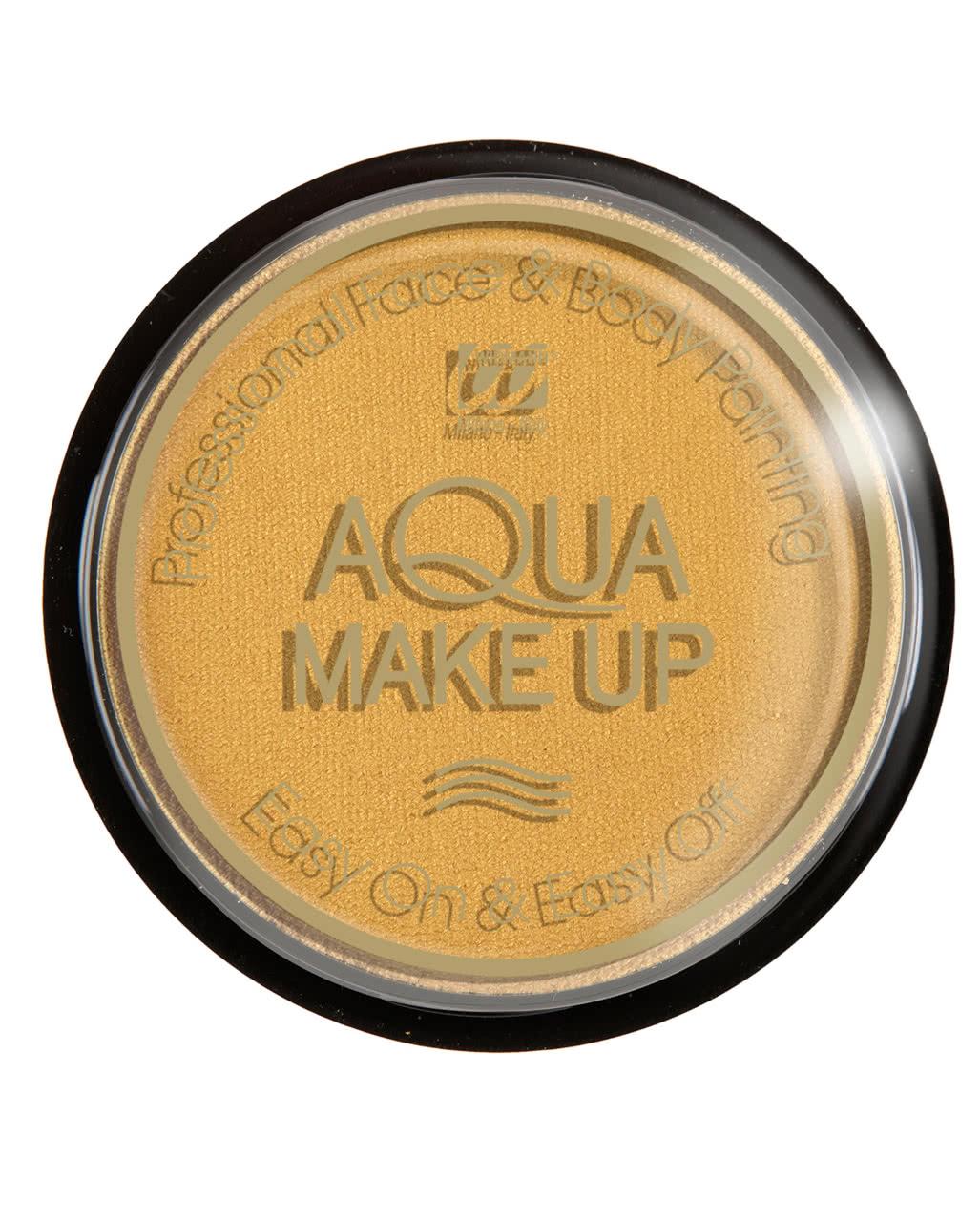 aqua make up gold water soluble liner horror. Black Bedroom Furniture Sets. Home Design Ideas