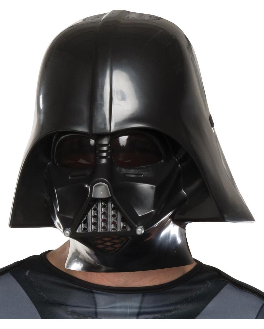 darth vader costume with mask star wars horror. Black Bedroom Furniture Sets. Home Design Ideas