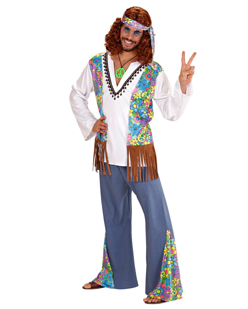 hippie m u00e4nner kost u00fcm gr  xl f u00fcr fasching
