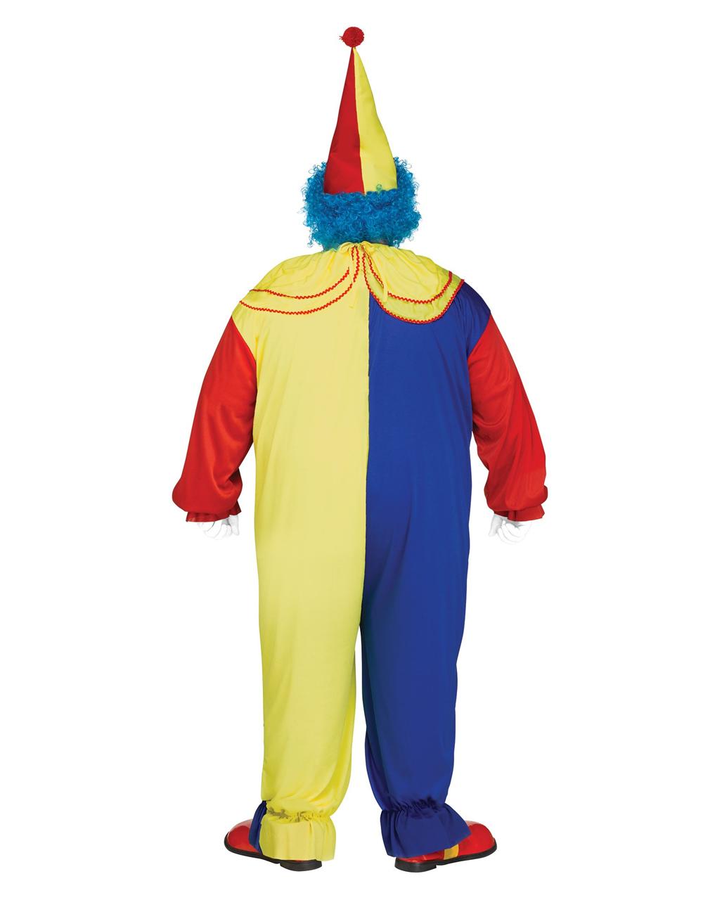 3f8a686e1c8 Horror clown costume Plus Size