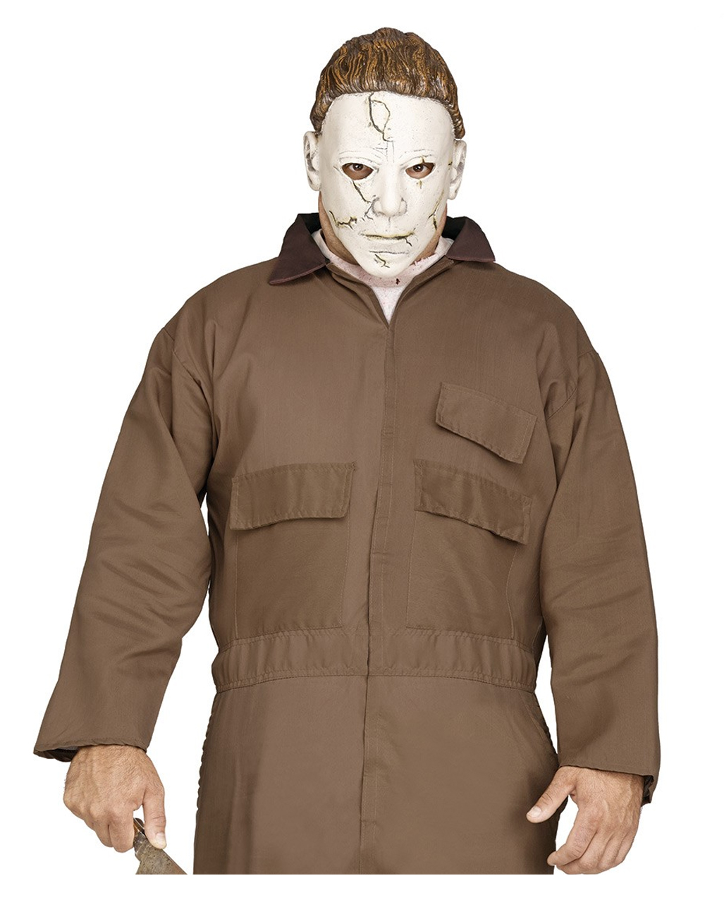 Halloween Michael Myers Costume.Michael Myers Costume With Pvc Mask
