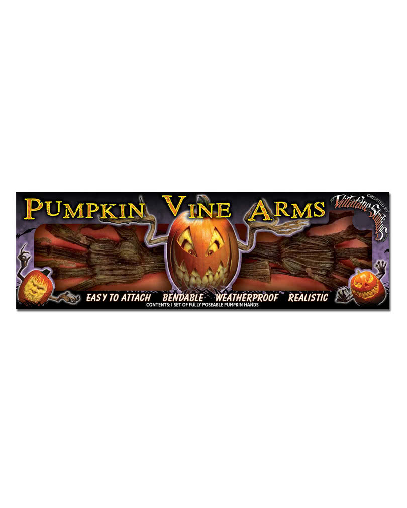 moldy pumpkin arms for your halloween decoration horror. Black Bedroom Furniture Sets. Home Design Ideas