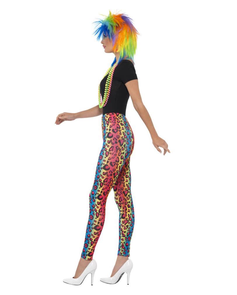 neon leoparden leggings f r schrille bad taste outfits. Black Bedroom Furniture Sets. Home Design Ideas