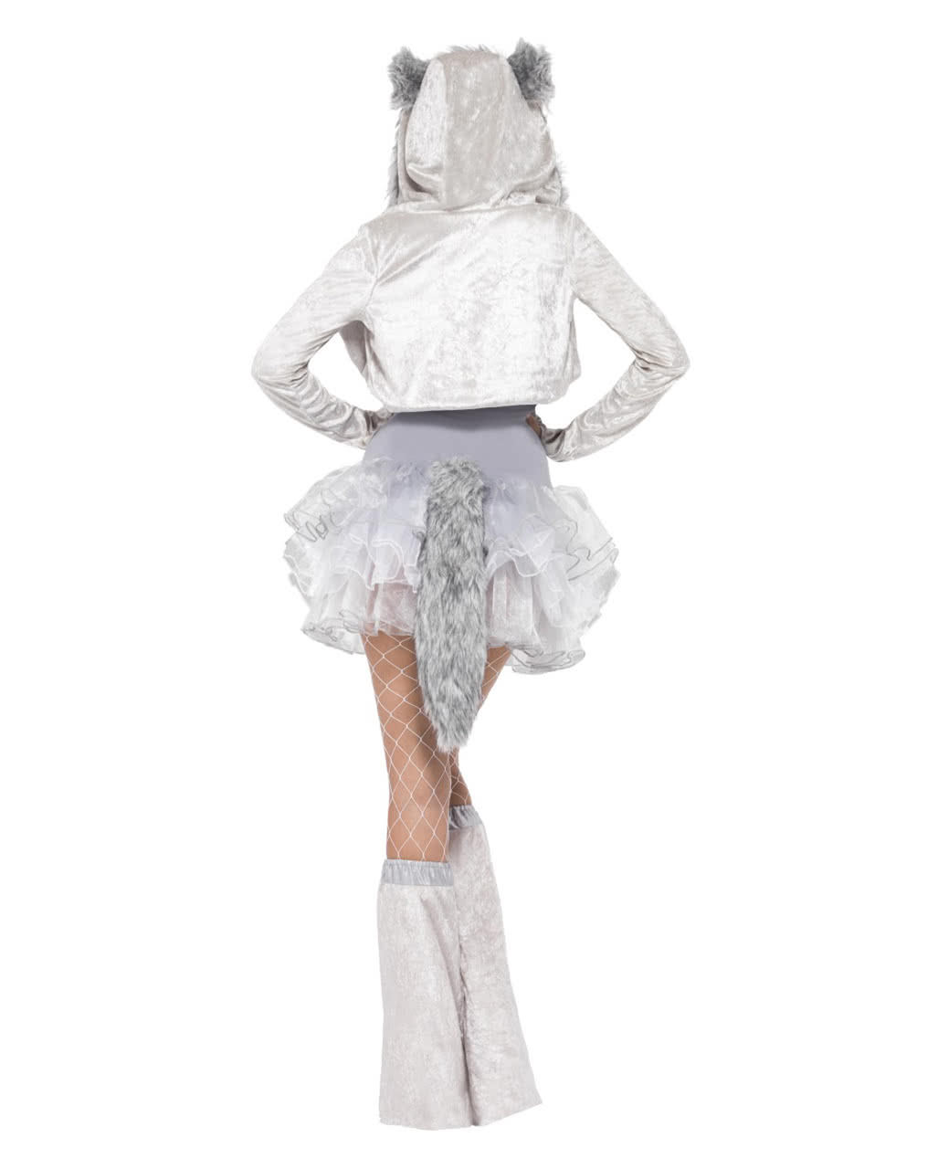 sexy wolf tutu dress silver for theme parties horror. Black Bedroom Furniture Sets. Home Design Ideas