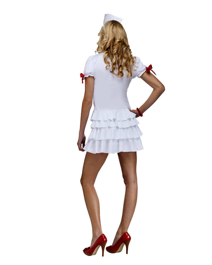 Kinky black nurse costume