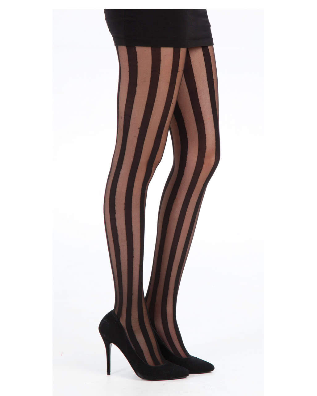 sheer bar pantyhose with stripes fetish outfits horror. Black Bedroom Furniture Sets. Home Design Ideas