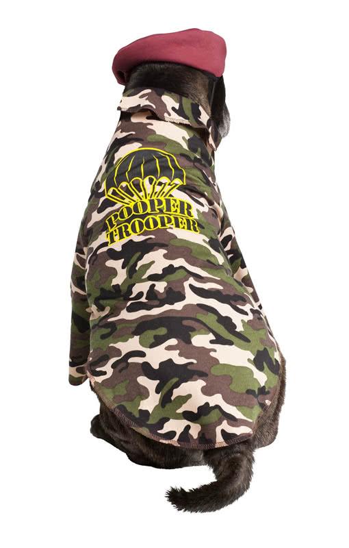 soldaten kost m f r hunde armee tarnfarbenanzug f r. Black Bedroom Furniture Sets. Home Design Ideas