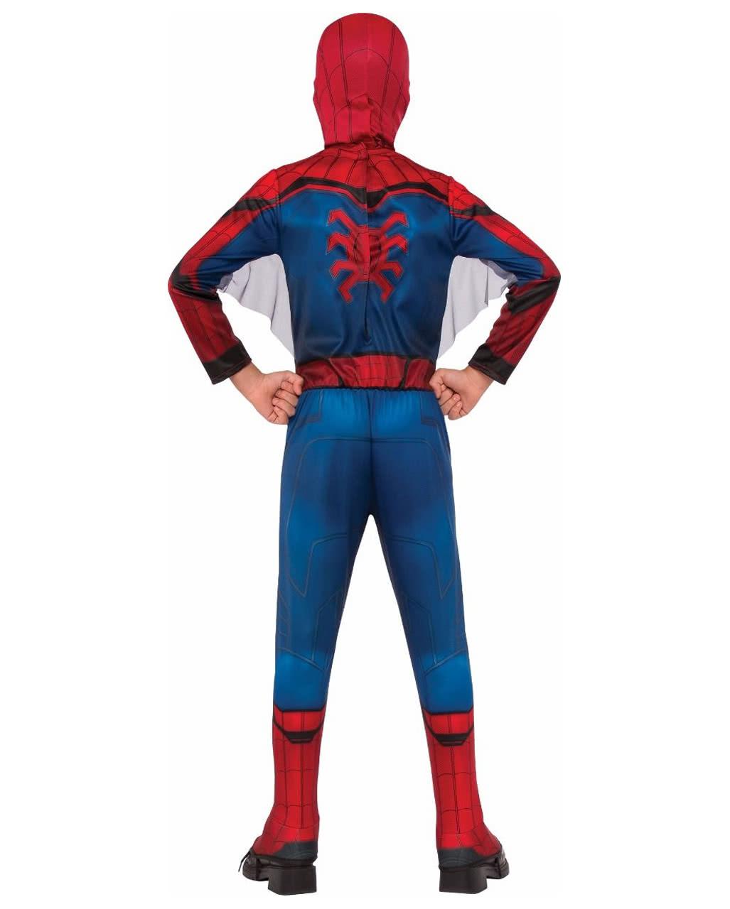 spiderman kinderkost m mit maske marvel kost m horror. Black Bedroom Furniture Sets. Home Design Ideas