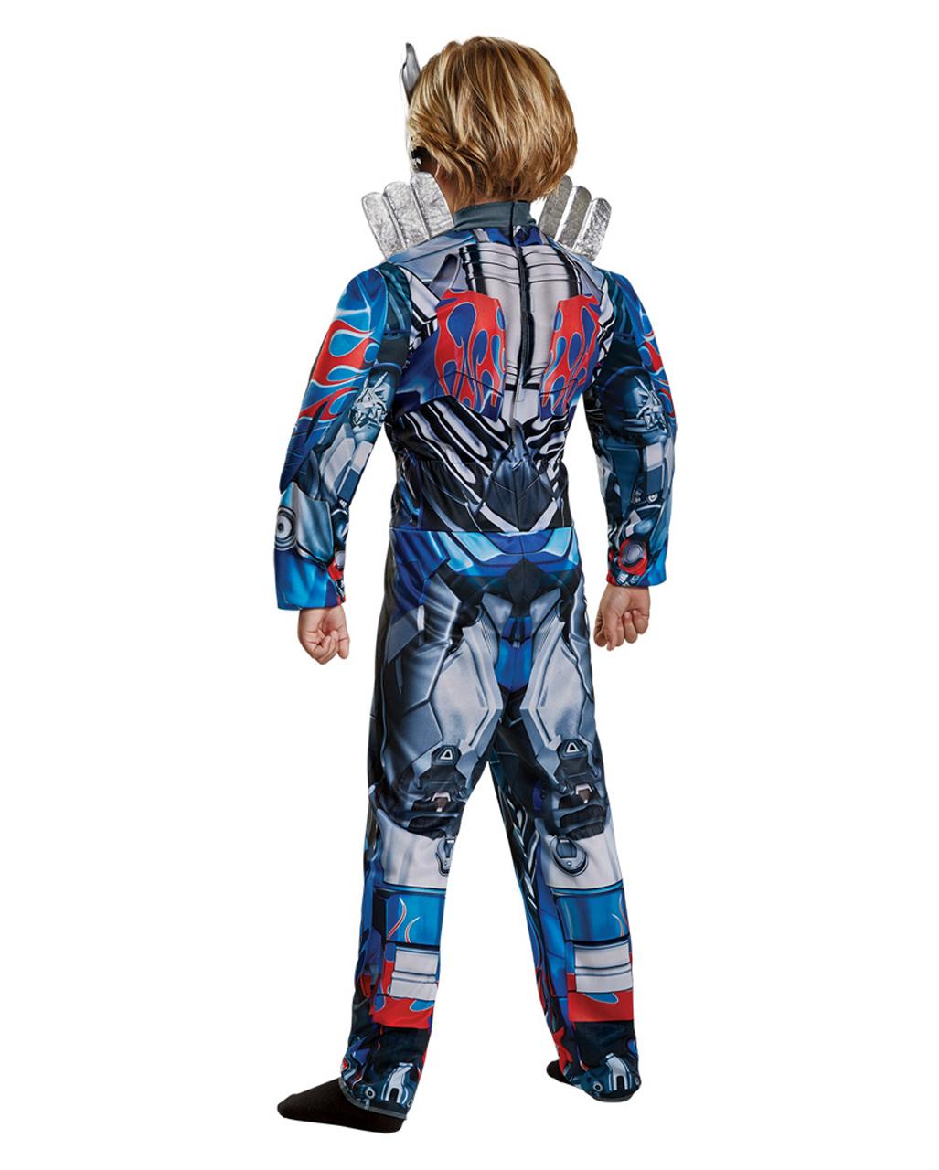 Optimus Prime Transformers Robot Fancy Dress Up Halloween Toddler Child Costume