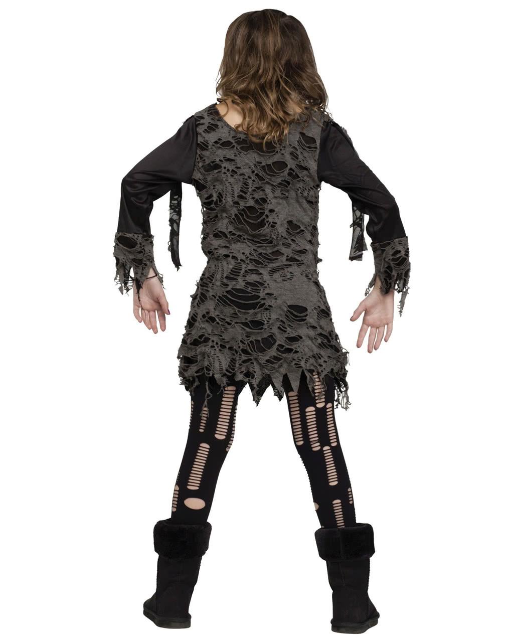 walking zombie kost m f r m dchen halloween kost m. Black Bedroom Furniture Sets. Home Design Ideas