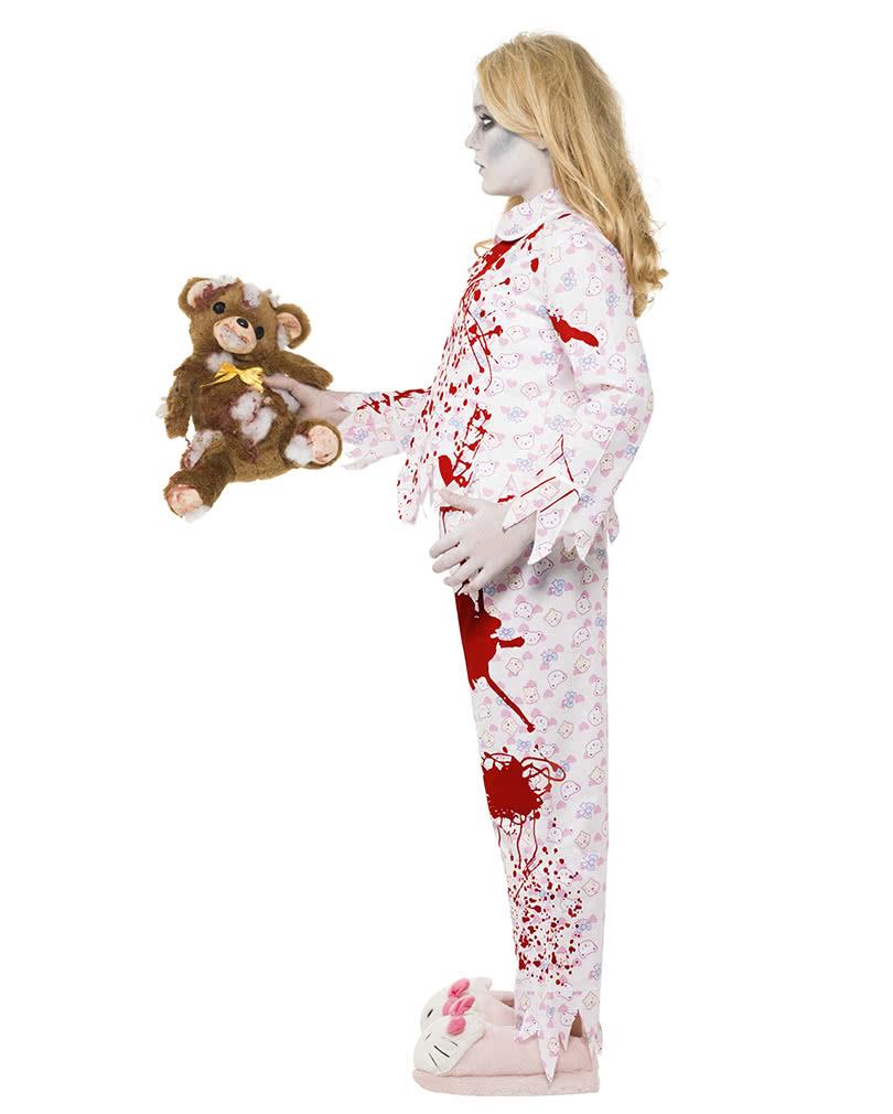 zombie pyjama f r m dchen gruselige anziehsachen g nstig. Black Bedroom Furniture Sets. Home Design Ideas