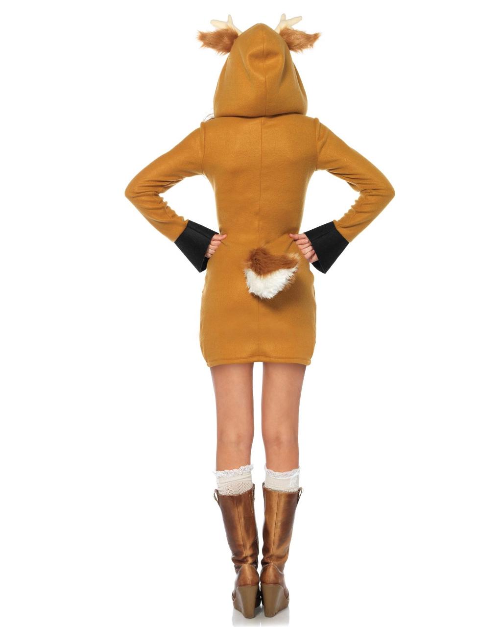 rehkitz ladies costume bambi costume horror. Black Bedroom Furniture Sets. Home Design Ideas