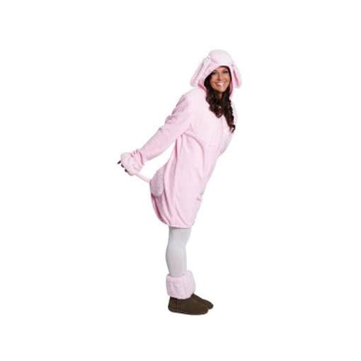 Pudel Kostüm rosa Hundekostüm Hund Overall Fasching Karneval Tierkostüm 12461413